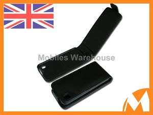Brand New Black Leather Flip Case For LG GD510