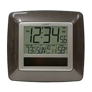 La Crosse Technology WT 8112U Solar Atomic Digital Clock