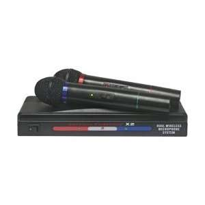 American Starpower X2 Dual VHF Wireless Microphon GPS