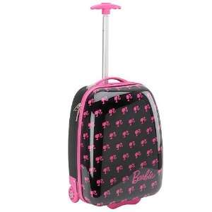 Barbie Hard Shell Rolling Luggage Case Toys & Games