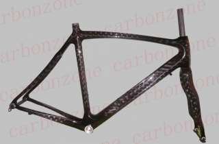 Brand New 12k Carbon Road bike Frame& Fork 58cm