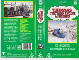 THOMAS THE TANK ENGINE THE DEPUTATION THE DEPUTATION VHS VIDEO PAL