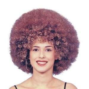 Beyonce Female Afro Fancy Dress Wig Inc FREE Wig Cap: Toys