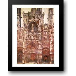 in brown, 1894 22x28 Framed Art Print by Monet, Claude: Home & Kitchen