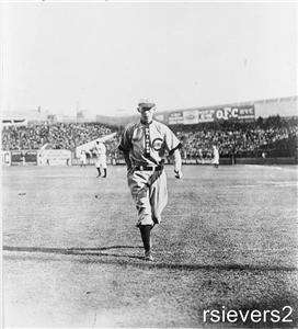 1909 Photo JOHN EVERS Chicago Cubs HOF The Crab