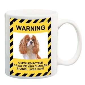 Cavalier King Charles Spaniel Spoiled Rotten Coffee Tea Mug 15 oz No 2