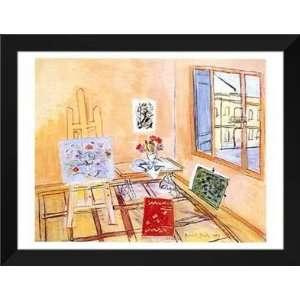 Raoul Dufy FRAMED Art 28x36 Latelier Au Bouquet