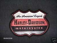 HARLEY DAVIDSON EMBLEM AN AMERICAN LEGEND