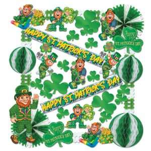 St Patrick Decorating Kit   37 Pcs Case Pack 4