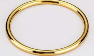 9K Yellow Gold Golf Bangle Solid Design 9 Carat GF