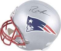 New England Patriots Autographed Helmets, New England Patriots Helmet