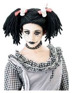 Halloween Costumes  Hats, Wigs & Masks  Wigs Gothic Punk