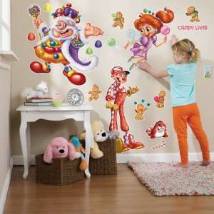 Candy Land Giant Wall Decals, 64755