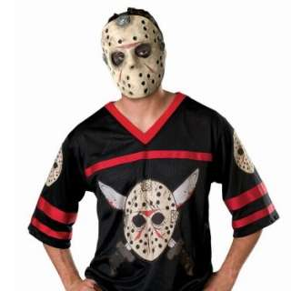 Halloween Costumes Friday the 13th Jason Hockey Jersey with Mask Adult