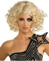 Lady Gaga Curly Blonde Wig   tv and movie   accessories makeup