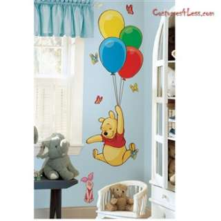 Pooh and Piglet Giant Peel and Stick Wall Decals