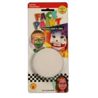Clown White Face Paint     164361
