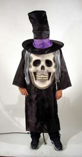 Adult Mad Hatter Skull Costume   Gothic Halloween Costumes   15TA267