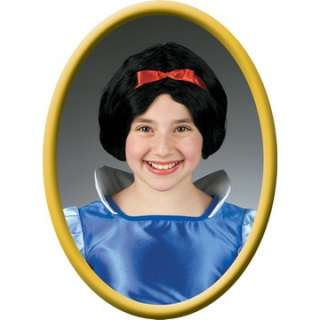 Child Snow White Wig   Complete your Princess Snow White look with the