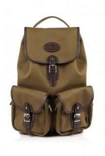 Chapman Bags  Deep Olive Canvas Backpack by Chapman Bags
