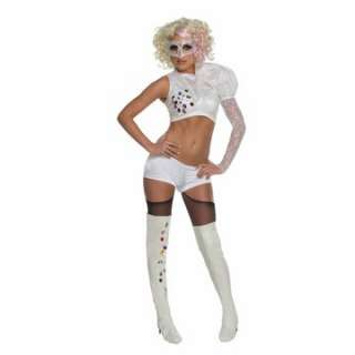 Lady Gaga VMA White Performance Outfit Adult Costume   Top w/att
