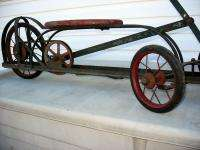 1920s Pedal Toy Irish Mail Ride On Push Pull Cart Motorcycle Style