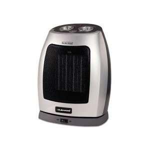 Fan Forced 1500W Oscillating Ceramic Heater, 7 x 8 1/4 x