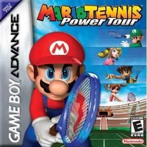 : Mario Tennis Power Tour for Game Boy Advance (Gameboy): Video Games