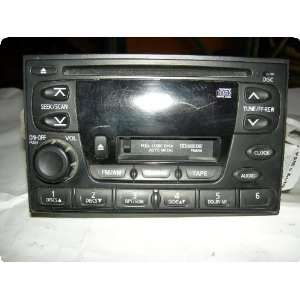 Radio  XTERRA 00 01 receiver, AM FM stereo cassette CD Automotive