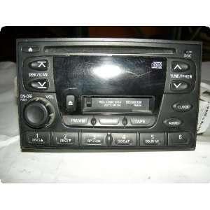 Radio  XTERRA 00 01 receiver, AM FM stereo cassette CD Automotive