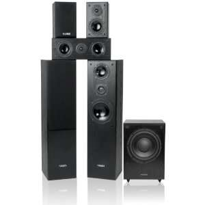 Fluance AV Series 5.1 Surround Sound Home Theater Speaker System with