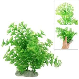Como Fish Tank 8.3Green Plastic Water Plant Grass