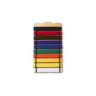 Ten Level Martial Arts Karate Belt Display: Sports