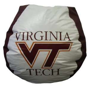 Bean Bag Boys Viginia Tech Hokies Bean Bag Chair Sports