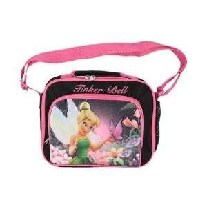 Fairies Tinker Bell Kids Pink / Black Girls Lunch Bag