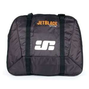 Jet Black Travel Bag For Trainer