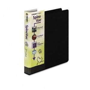 Locking Slant D Ring Binder, 1 Capacity, Black: Camera & Photo