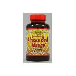 Dynamic Health African Bush Mango   60 Vegetarian Capsules