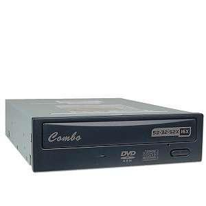 Emprex 52x32x52x16 CD RW/DVD ROM Combo Drive (Black) Electronics