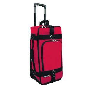 Club Glove 2011 Carry On Rolling Travel Bag (Red) Sports