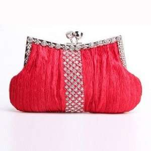 & Rhinestone Evening Bag Wedding Party Clutch Bag