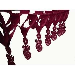 Red Sacred Heart Paper Streamer