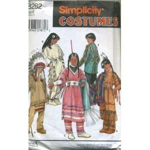 Simplicity Costume Pattern Indians Native American Arts