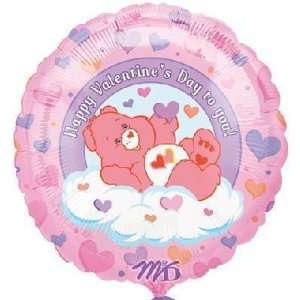 18 Care Bears Valentine Balloon Toys & Games
