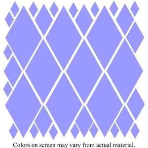 34 Purple Diamonds Wall Decor Stickers Mural Quotes