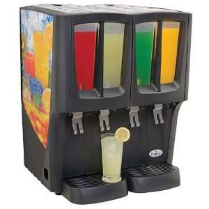G Cool Mini Quattro Cold Beverage Dispenser, (4) 2.4
