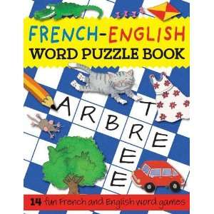 French English Word Puzzle Book (Word Puzzle Series