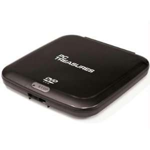 Exclusive By PC Treasures External DVD ROM Drive Black Electronics