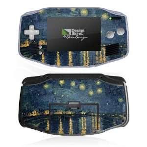 Design Skins for Nintendo Game Boy Advance   Starry Night