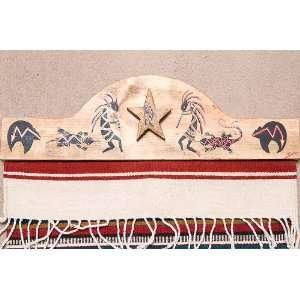 Southwestern Tapestry Rug Hanger 30   Kokopelli (RH4